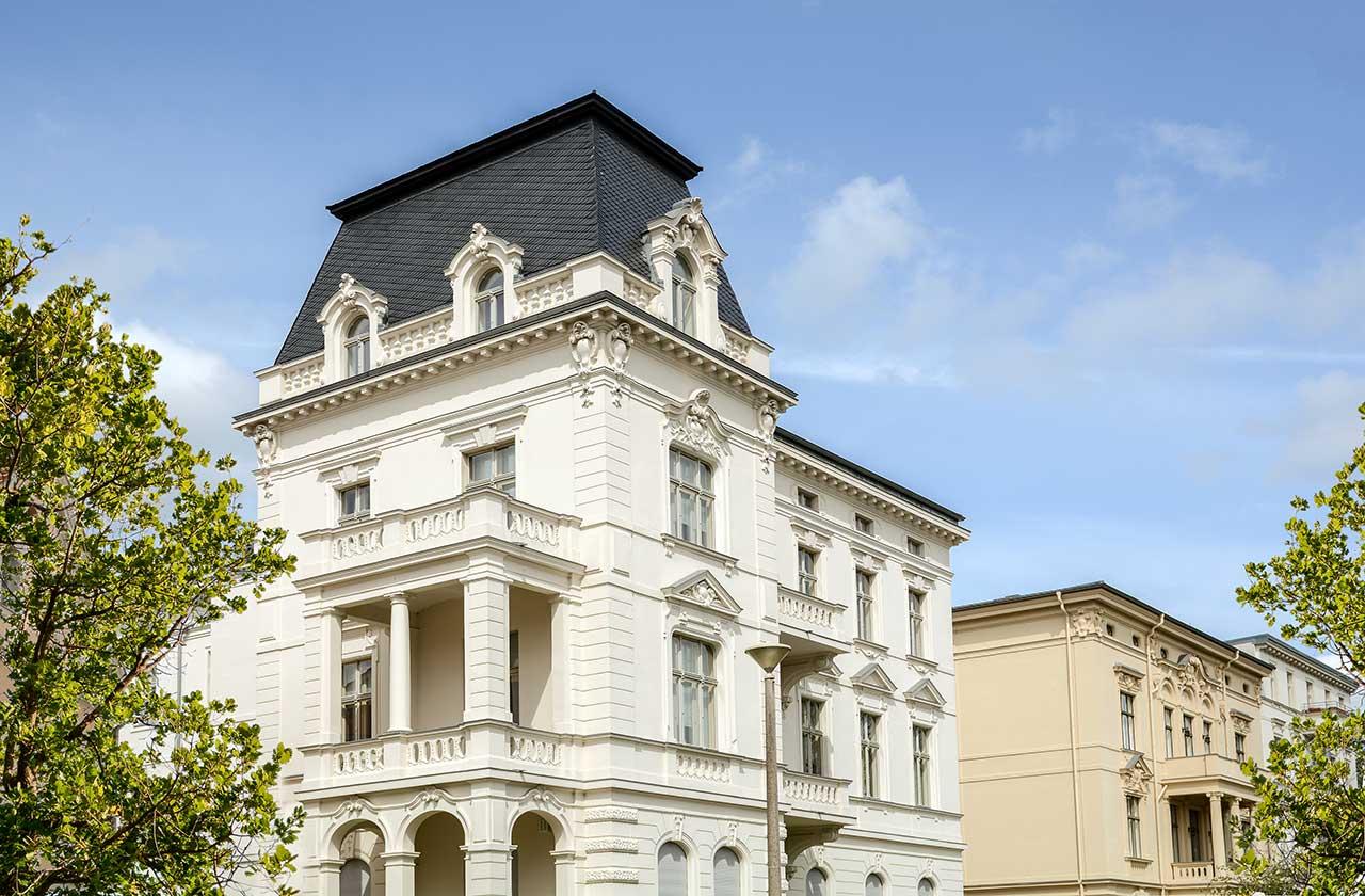 MCP Global Immobilien Service für Verkäufer - symbolisches Bild eines Altbaus