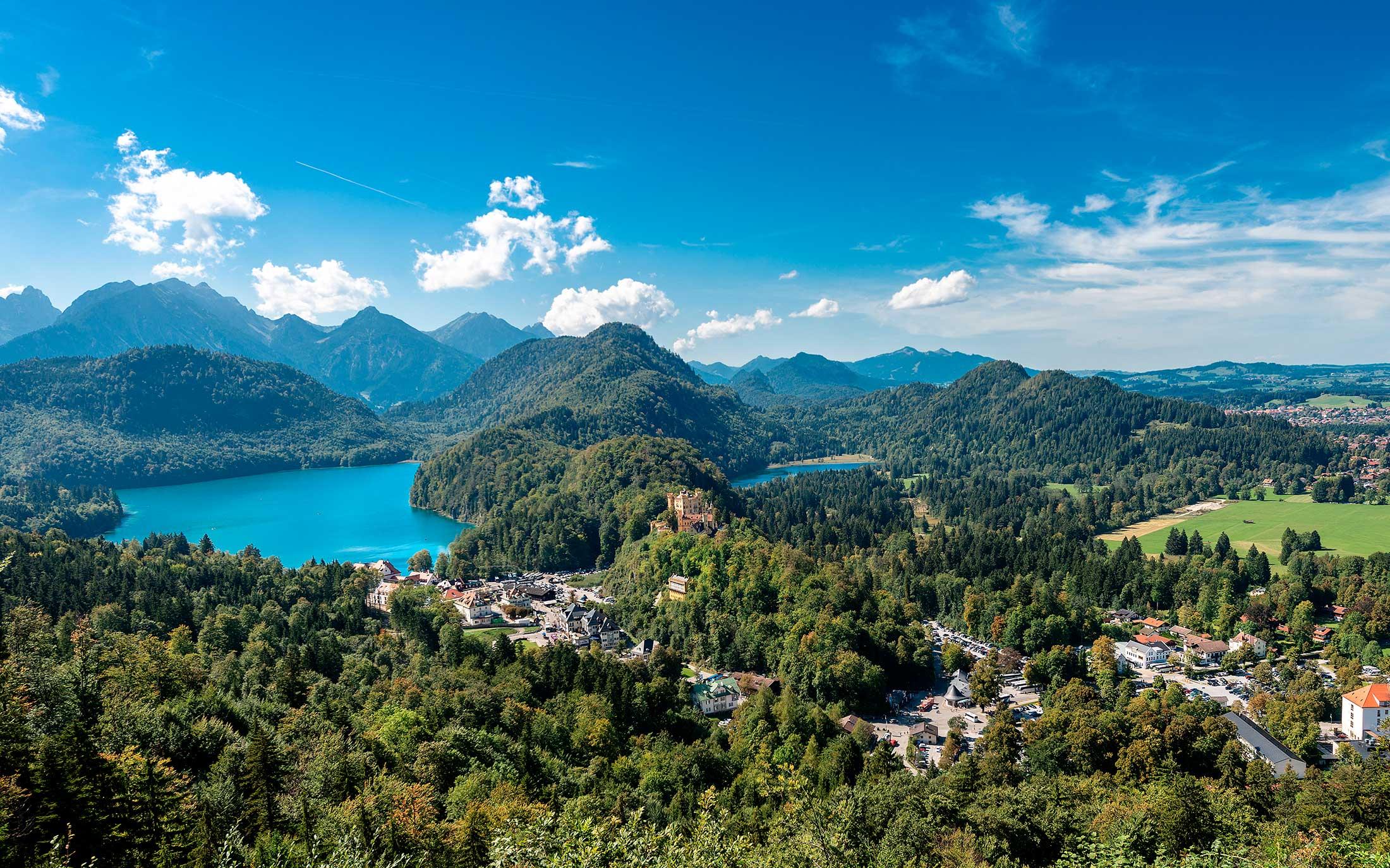 Oberbayern Panoramasicht steht symbolisch für die MCP Global Immobilien Marktkompetenz