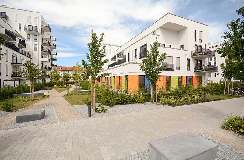 Symbolische Neubauten-Abbildung für MCP Global Immobilien Service für Bauträger